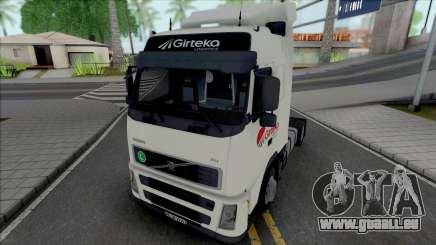 Volvo FH12 460 Girteka Logistics pour GTA San Andreas