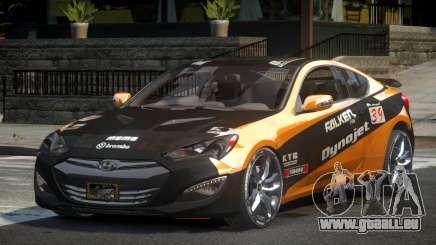 Hyundai Genesis GST Drift L5 für GTA 4