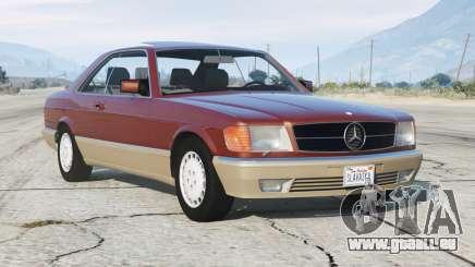 Mercedes-Benz 560 SEC (C126) 1986〡add-on v1.1 pour GTA 5