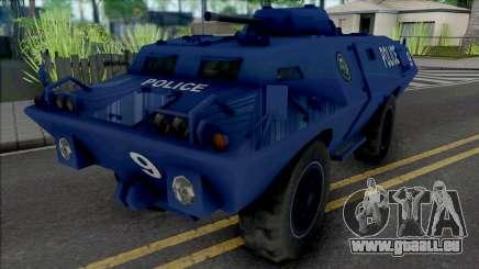 Improved S.W.A.T. Van pour GTA San Andreas