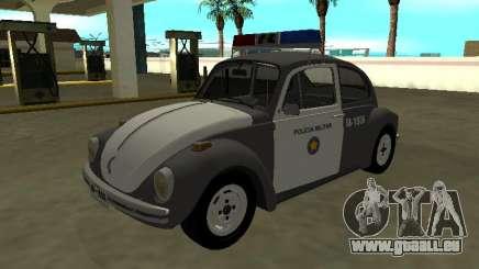 Volkswagen Beetle 1994 Brigade militaire de São Paulo pour GTA San Andreas