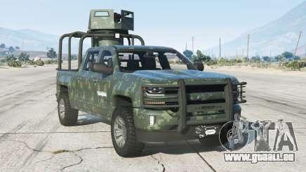 Chevrolet Cheyenne Armored Crew Cab 2017〡add-on v1.1 pour GTA 5