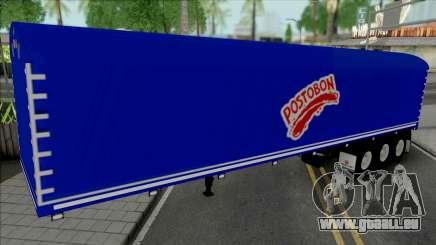 Colombian Postobon Company Trailer für GTA San Andreas