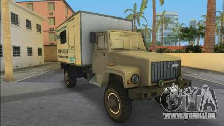 Gaz 3308 Sadko Auto Lab für GTA Vice City