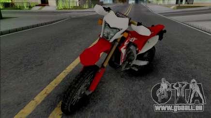 Honda CRF150R für GTA San Andreas