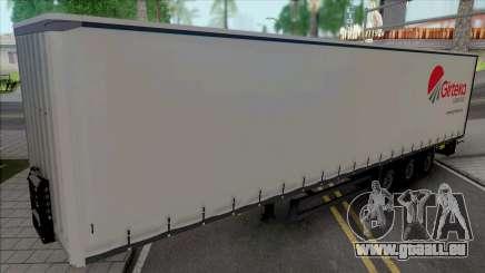 Trailer Girteka Logistics für GTA San Andreas