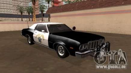 Ford Gran Torino 1979 California Highway Patrol pour GTA San Andreas