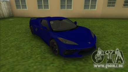 Chevrolet Corvette C8 für GTA Vice City