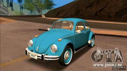 Volkswagen Beetle (Beetle) 1300 1974 - Brésil pour GTA San Andreas