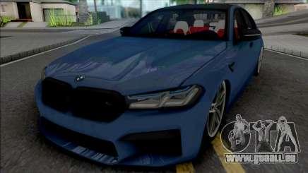 BMW M5 2021 Quantum Works pour GTA San Andreas