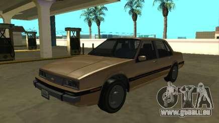 Chevrolet Cavalier 1988 berline pour GTA San Andreas