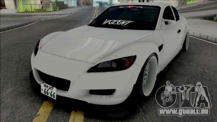 Mazda RX-8 Gang Lords pour GTA San Andreas