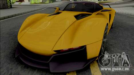 Rezvani Beast X 2016 pour GTA San Andreas