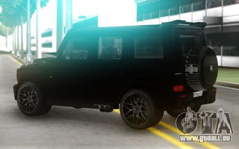 Mercedes-Benz G63 AMG Black Series pour GTA San Andreas