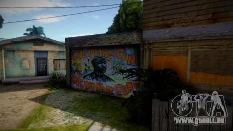2Pac Graffiti pour GTA San Andreas