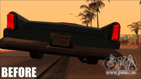 Fixed Exhaust Oceanic pour GTA San Andreas