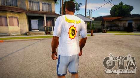 New T-shirt (good textures) für GTA San Andreas