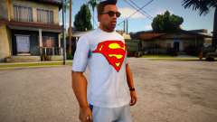 T-shirt Superman (good textures) für GTA San Andreas