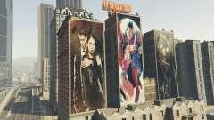 Posters for Hookah Palace Building pour GTA 5
