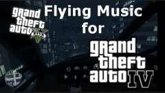 GTA V Flying Music for GTA IV pour GTA 4