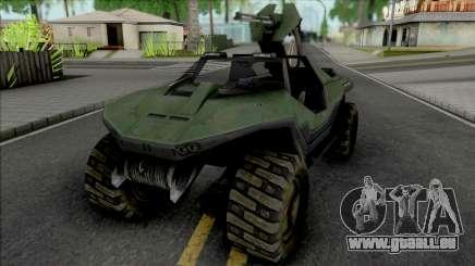 Halo Combat Evolved Warthog M12 für GTA San Andreas