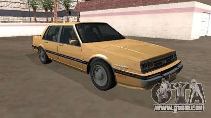 Chevrolet Celebrity 1984 Année pour GTA San Andreas