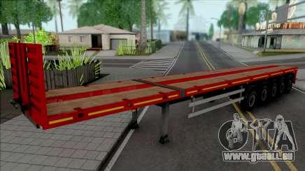 Trailer Flatbed 5 Axles pour GTA San Andreas