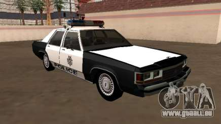 LTD Crown Victoria 1991 Las Vegas Metro Police für GTA San Andreas