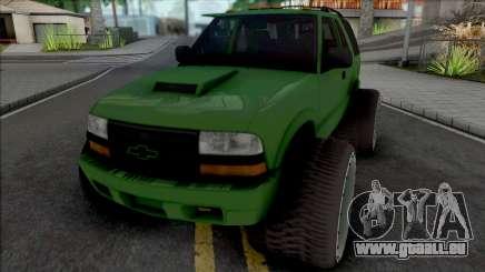 Chevrolet Blazer Lifted für GTA San Andreas