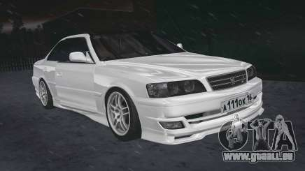 Toyota Chaser 100 RUS Plates pour GTA San Andreas