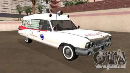 Cadillac Miller-Meteor 1959 Old Ambulance für GTA San Andreas