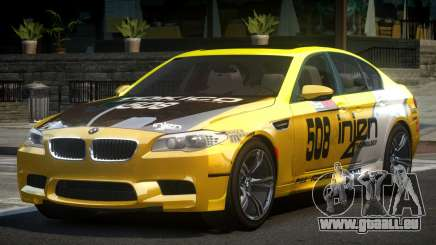 BMW M5 F10 PSI-R S10 pour GTA 4