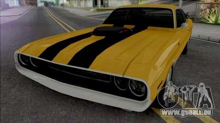 Dodge Challenger RT 1970 [IVF VehFuncs ADB] pour GTA San Andreas