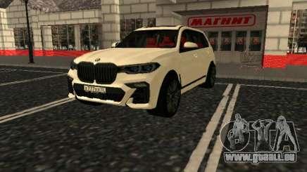 BMW X7 Xdrive D50 pour GTA San Andreas