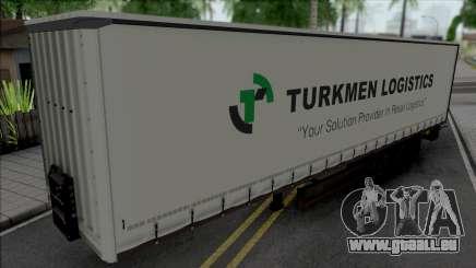 Trailer Turkmen Logistic für GTA San Andreas