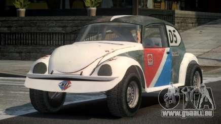 Volkswagen Beetle Prototype from FlatOut PJ5 pour GTA 4