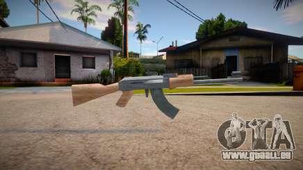 New AK-47 (good textures) pour GTA San Andreas