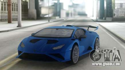 Lamborghini Huracan STO 2021 pour GTA San Andreas