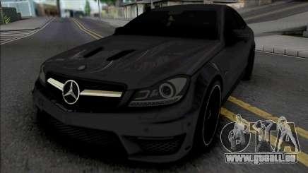 Mercedes-Benz C63 AMG Edition 2014 (IVF Lights) für GTA San Andreas
