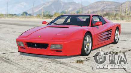 Ferrari 512 TR 1991〡add-on pour GTA 5