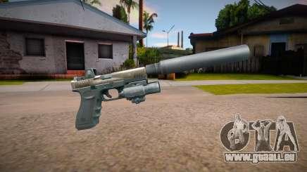 Glock-17 DevGru (Contract Wars) v2 für GTA San Andreas