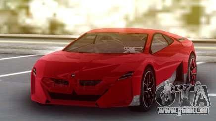 BMW Vision M Next 2020 pour GTA San Andreas