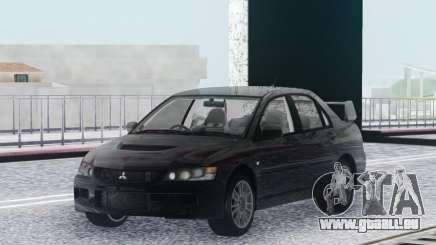 Mitsubishi Lancer Evolution IX MR Stock pour GTA San Andreas