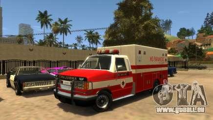 Ambulance SA pour GTA 4