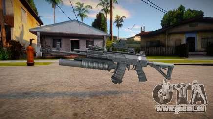 Ak-12 (good textures) pour GTA San Andreas