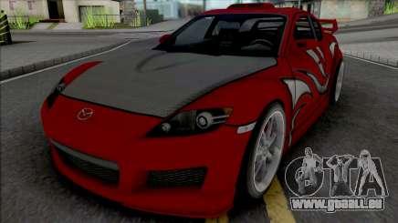 Mazda RX-8 Mia Townsend pour GTA San Andreas