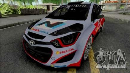 Hyundai i20 WRC pour GTA San Andreas