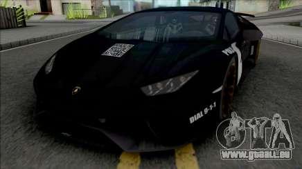 Lamborghini Huracan Performante Police pour GTA San Andreas