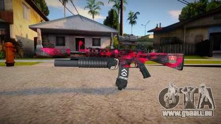 M4 Nuketow marck_delta für GTA San Andreas