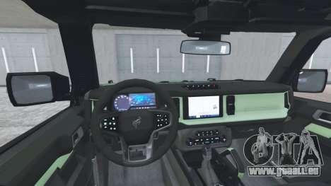 Ford Bronco 4-door Wildtrack 2021